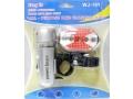 Zestaw power beam lampek rowerowych LED przód tył