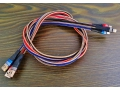 Kabel Iphone płaski nylonowy oplot