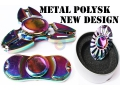 SPINNER HAND FIDGET METAL POŁYSK NEW DESIGN EMA