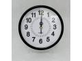 Zegar ścienny wskazówkowy pływający 18cm