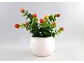 Sztuczny kwiatek w doniczce 13cm