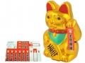 Kot Japoński Chiński bogactwa szczęścia złoty!!!!