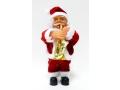Mikołaj Grający z lampką mix 3 wzor