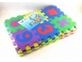 Puzzle piankowe 12x12cm litery lub cyfry