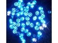 Lampki Choinkowe Z Błyskiem 100 LED Niebieskie