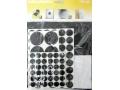 Zestaw 125szt. podkładek pod meble gumowych