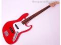 Gitara Basowa Adelita Jazz Bass Czerwona