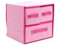 Półka szafka komoda organizer 3 szuflady 8084