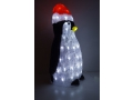 Kolorowy Podświetlany Pingwin Z Akrylu Ozdoba Led