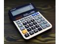 Kalkulator 14 cyfrowy duży z korektą solar