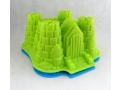 Silikonowa forma zamek 22,5x19,5cm