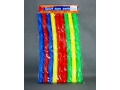 Hula hop 90 cm 9 elementów kolorowe