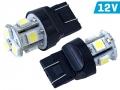 ŻARÓWKA VISION W21/5W T20Q 12V 8x 5050 SMD LED
