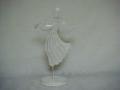 Anioł metalowy - figurka ozdobna
