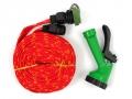 Wąż ogrodowy ciśnieniowy 15 m + pistolet