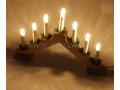 CHRISTMAS - Swiecznik drewniany 2285/24