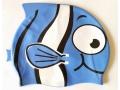 Czepek silikonowy rybka