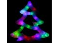 Ozdoba Kolorowa Choinka 35 LED