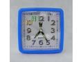 Zegarek budzik 11cm kwadratowy z podświetleniem