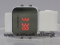 ZEGAREK LED WATCH 588-589 SILICON WHITE