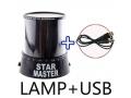 Lampka nocna STAR MASTER usb + 230V