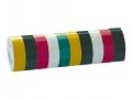 Taśma izolacyjna kolorowa  0,18mm x 19 mm x18 m