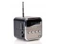 Mobilne Mini Radio z cyfrowym głośnikiem, mp3