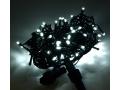 Lampki Choinkowe Z Błyskiem 100 LED Białe