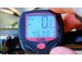 Wodoodporny licznik rowerowy LCD 14 funkcji