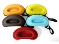 Etui na okulary sztywne nerka sport Czerwony Kolor
