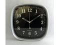 Zegar ścienny wskazówkowy pływający 25cm