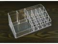 Akrylowy stojak na kosmetyki 21x12x8cm
