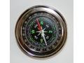 Kompas metalowy okrągły