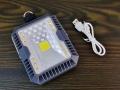 Lampa campingowa solarna zimne i ciepłe światło