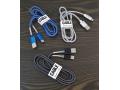 Kabel USB-C aluminiowe końcówki wzmacniane