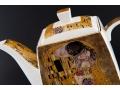 Dzbanek z podgrzewaczem Klimt Pocałunek ELB032