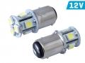 ŻARÓWKA VISION P21/5W BAY15d 12V 8x 5050 SMD LED