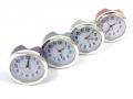 Budzik, zegarek 9cm - 4 kolory