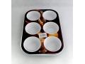 Forma muffin z powłoką ceramiczną 6szt głęboka