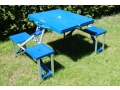 Stół kateringowy do ogrodu na piknik składany
