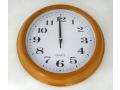 Zegar ścienny wskazówkowy pływający 29cm