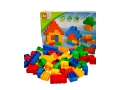 DUŻE kolorowe KLOCKI BRICKS zestaw 76 el. JAK LEGO