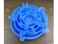 Zestaw uniwersalnych silikonowych przykrywek  6szt