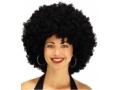 Peruka afro czarna