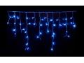 Lampki Sople 480 LED Z Niebieskie Flash