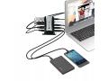 7 PORTÓW AKTYWNY HUB USB rozdzielacz + ZASILACZ
