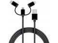 kabel danych 3 w 1 kabel USB 1m micro USB