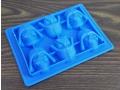 Silikonowa forma do czekolady głowa wadera 6szt