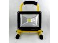 Halogen LED 20W projekcyjna lampa z akumulatorem