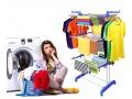 Suszarka Na Pranie prania UBRANIE Składana Stojąca